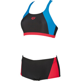 arena Rem Two-Pieces Swimsuit Women black-red-pix blue